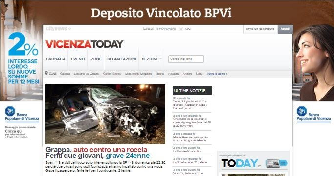 16-11-15 - Banca Popolare di Vicenza - Skin Desk - VicenzzaToday