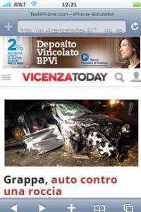 16-11-15 - Banca Popolare di Vicenza - Skin Mobile - VicenzaToday