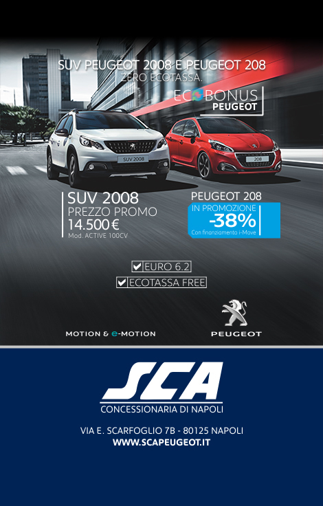 ADV Page - NapoliToday - S.CA. Peugeot-2
