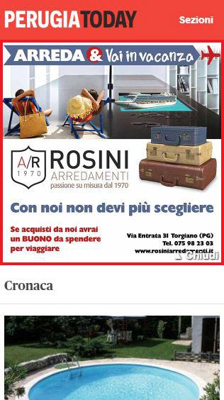 Rosini Arredamenti - Masthead Mobile PerugiaToday-2