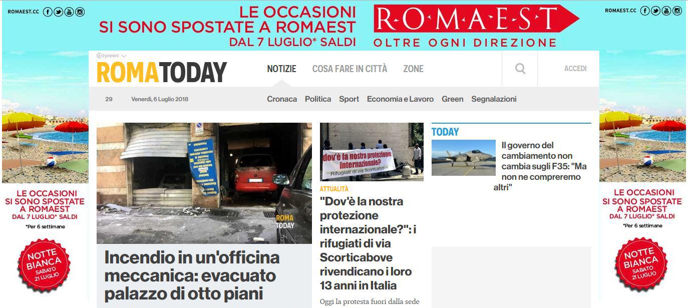 Centro Commerciale Roma Est - Skin Desktop RomaToday-2