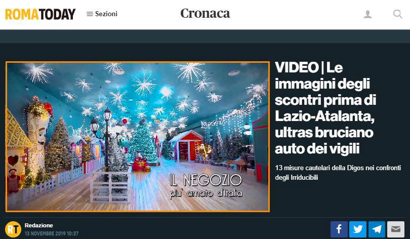 Spot News - RomaToday - Prima Serie, Il Regno di Babbo Natale-2