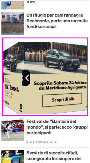 3D Cube Mobile - AgrigentoNotizie - Meridiano-2