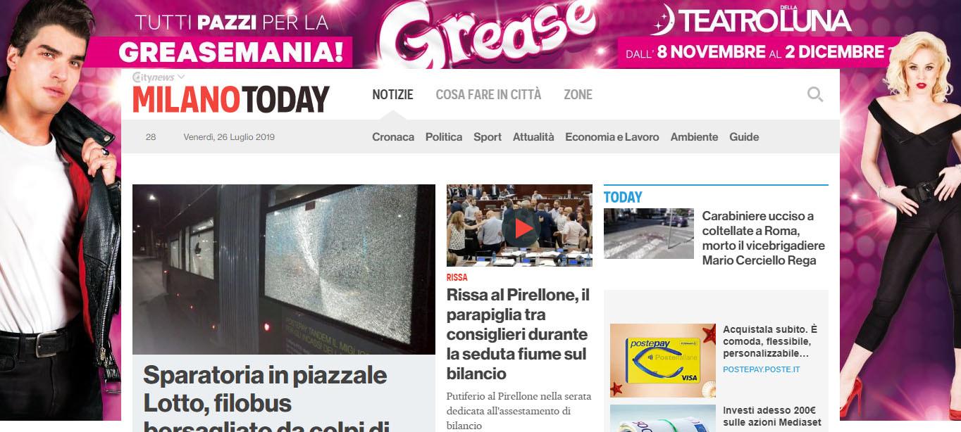 Skin Desktop Homepage - MilanoToday - Teatro della Luna-2