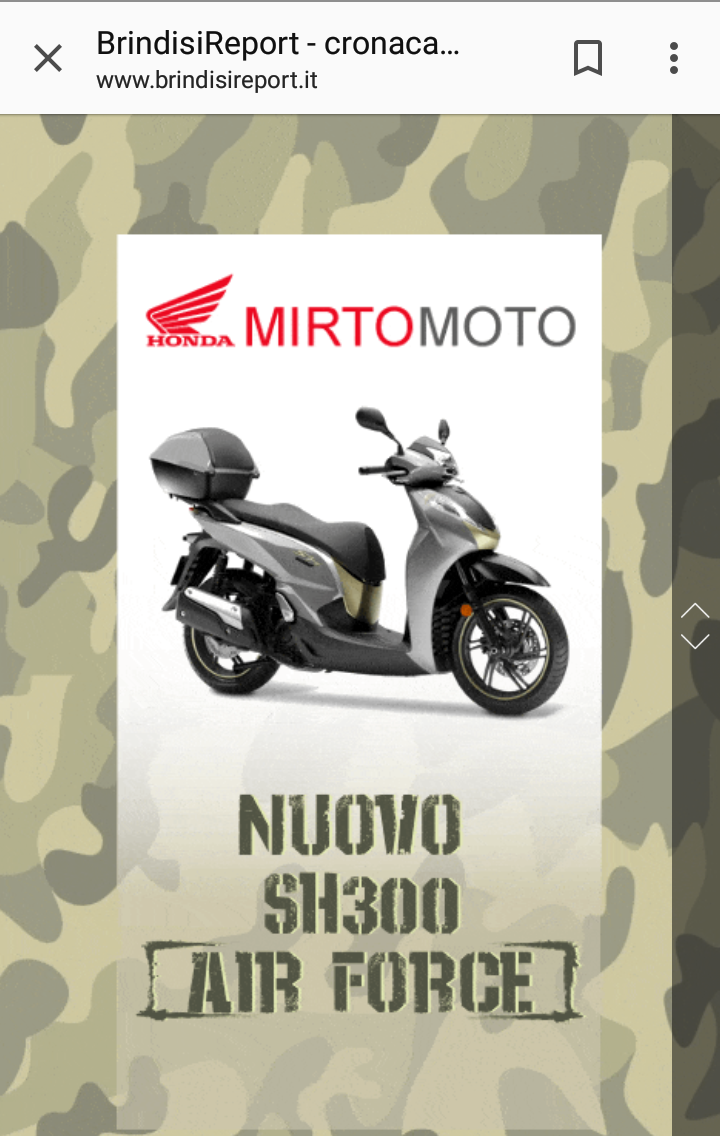 ADV PAGE Mobile - BrindisiReport -Mirto Moto