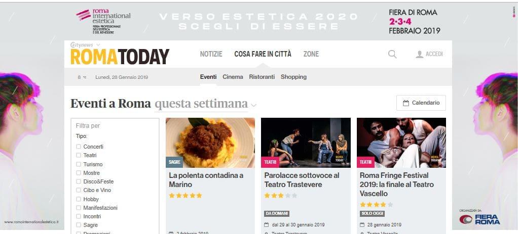 Fiera di Roma - Skin Desktop Canale Eventi RomaToday-2