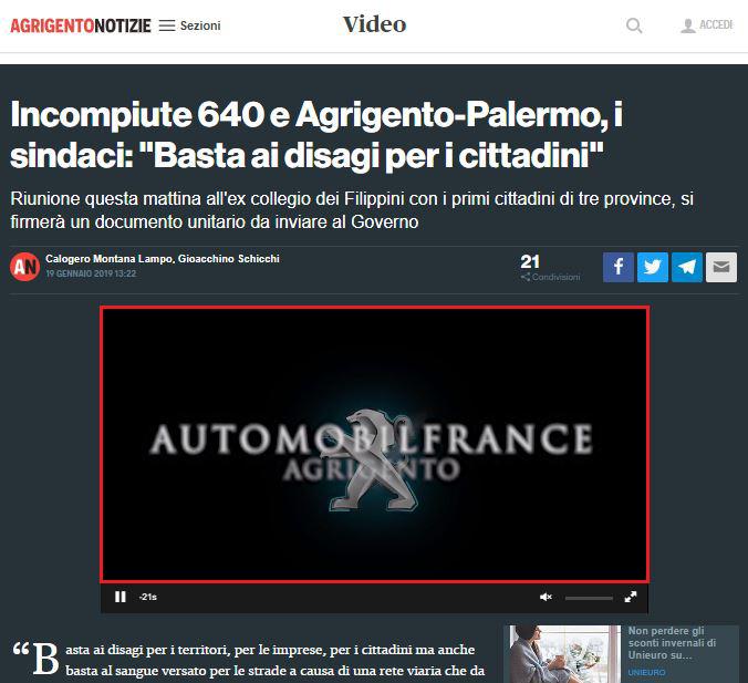 Spot News -AgrigentoNotizie - Automobilfrance-2