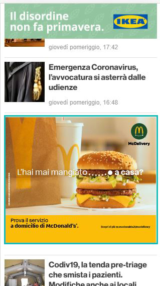 Box Mobile Canale Cronaca - BrindisiReport - Ristosì, McDonald's-2