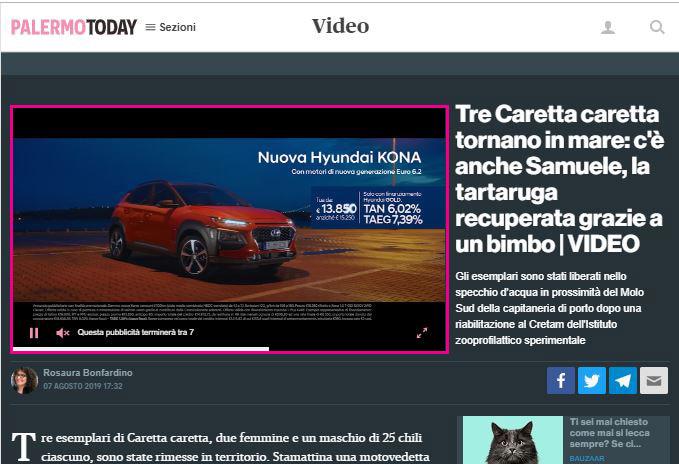 Spot Video - PalermoToday  Mondo Auto-2
