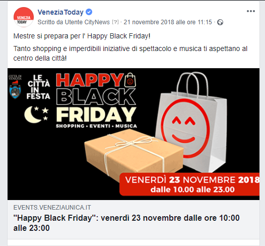 Post Facebook - fanpage VeneziaToday - Vela spa-2