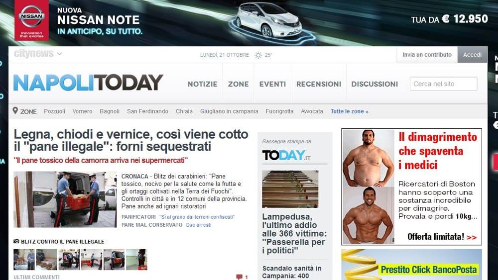 """La nuova Nissan Note """"in anticipo"""" sul network Citynews"""