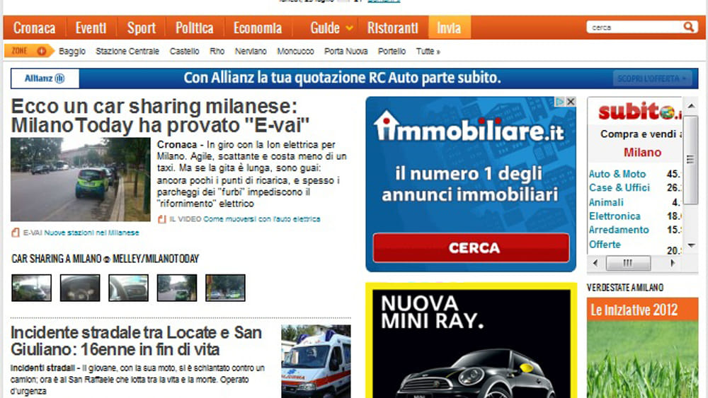 MilanoToday: le campagne BMW tra new media e dimensione locale!