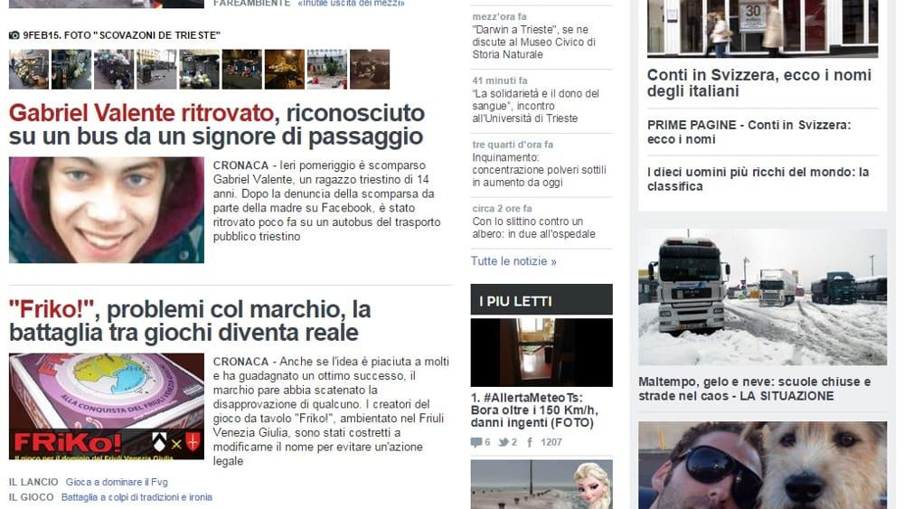 Citynews acquisisce la proprietà di TriestePrima