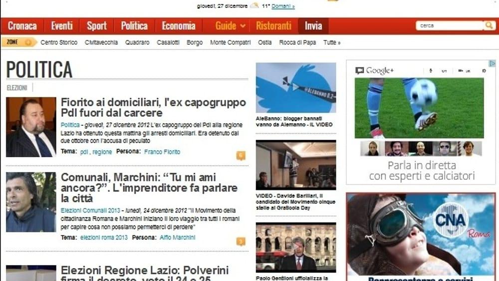 La campagna CNA 2012 su CityNews
