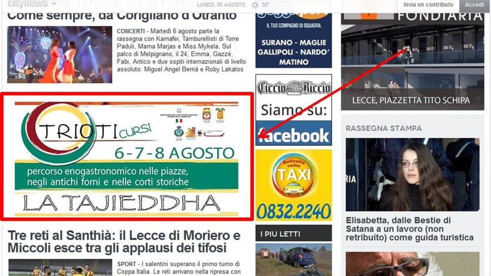 Sagre Estive, gli eventi local per eccellenza sul network Citynews
