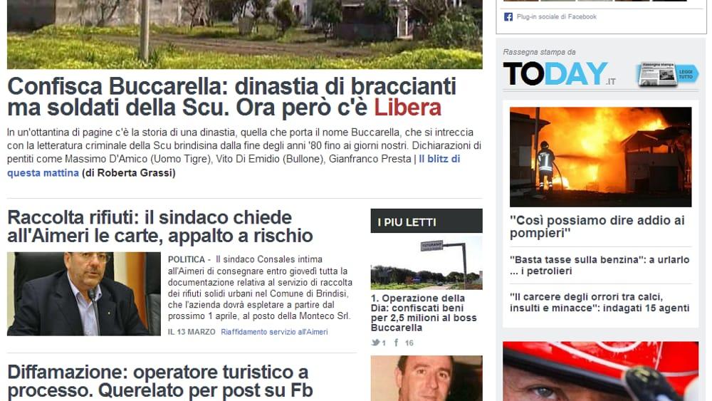 Citynews fa 39! BrindisiReport e LeccoToday sono le new entry del network