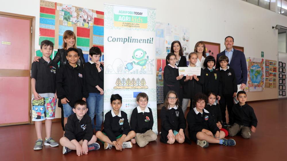 """Citynews premia le scuole vincitrici del concorso AgriKids: """"Il futuro del cibo è nell'agricoltura"""""""