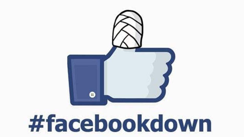 Quando Facebook va giù, torniamo a leggere le notizie